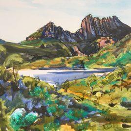 Jigsaw Art Puzzle The Hazards Tasmania Australia